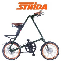 STRIDA STRIDA EVO18 Limited ENGLISH DARK GREEN【18インチ3段変速折りたたみ自転車】
