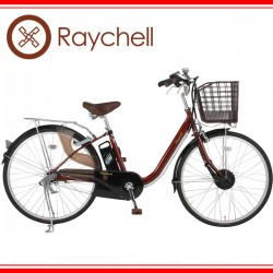 Raychell FT-263R-EA【26インチ3段変速電動アシスト自転車】